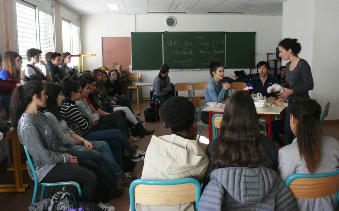 REPRISE DES ACTIONS EDUCATIVES/ Femmes Savantes, So what ?